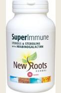 New Roots Herbal-SuperImmune (Sterols & Sterolins with Arabinogalactan)