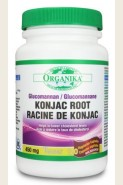 Organika Health Konjac Root 450mg 120-Capsules